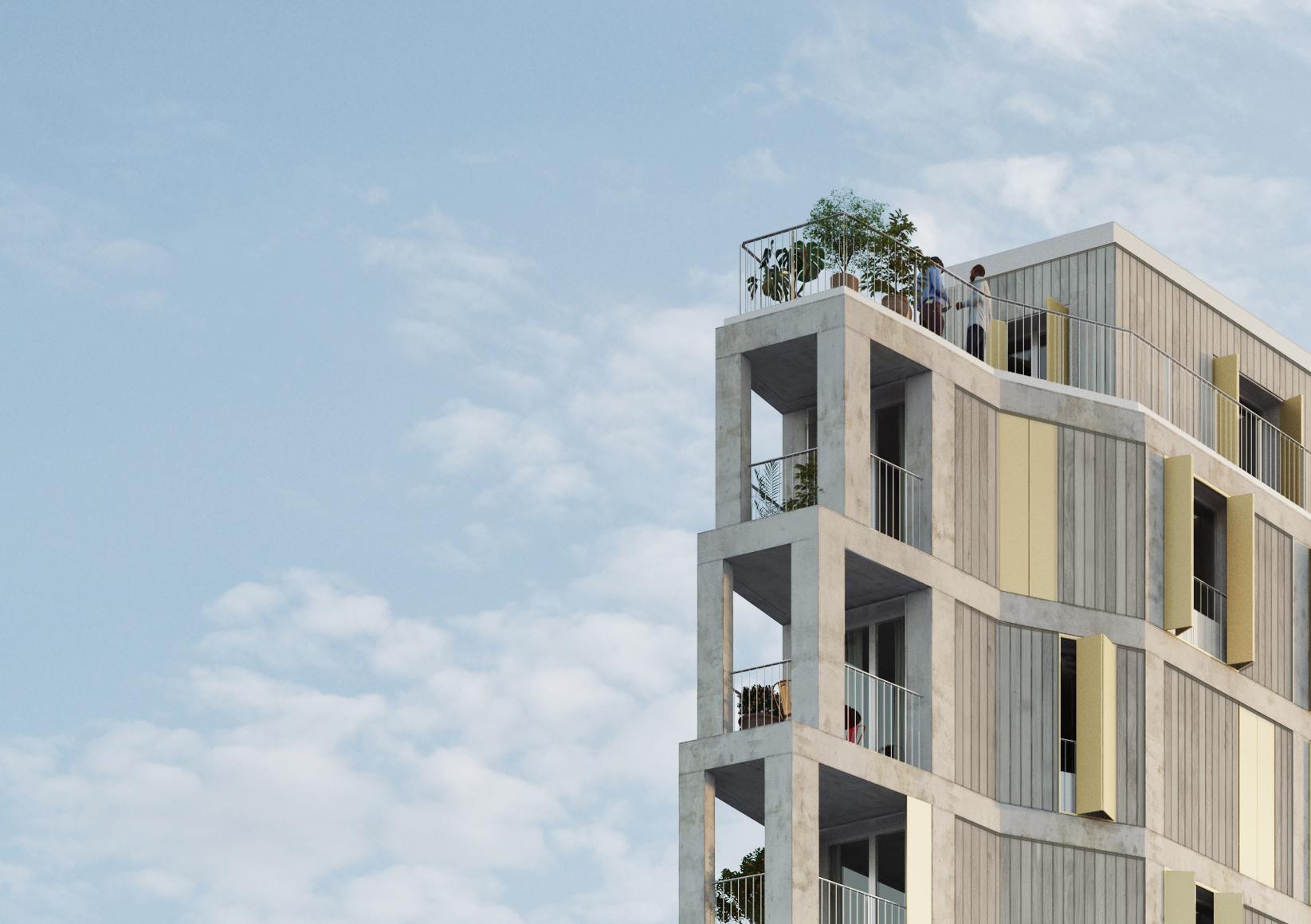 Construction neuve de 23 logements